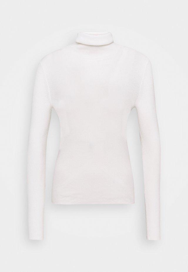 RIB STRUCTURE - Jersey de punto - chalk white
