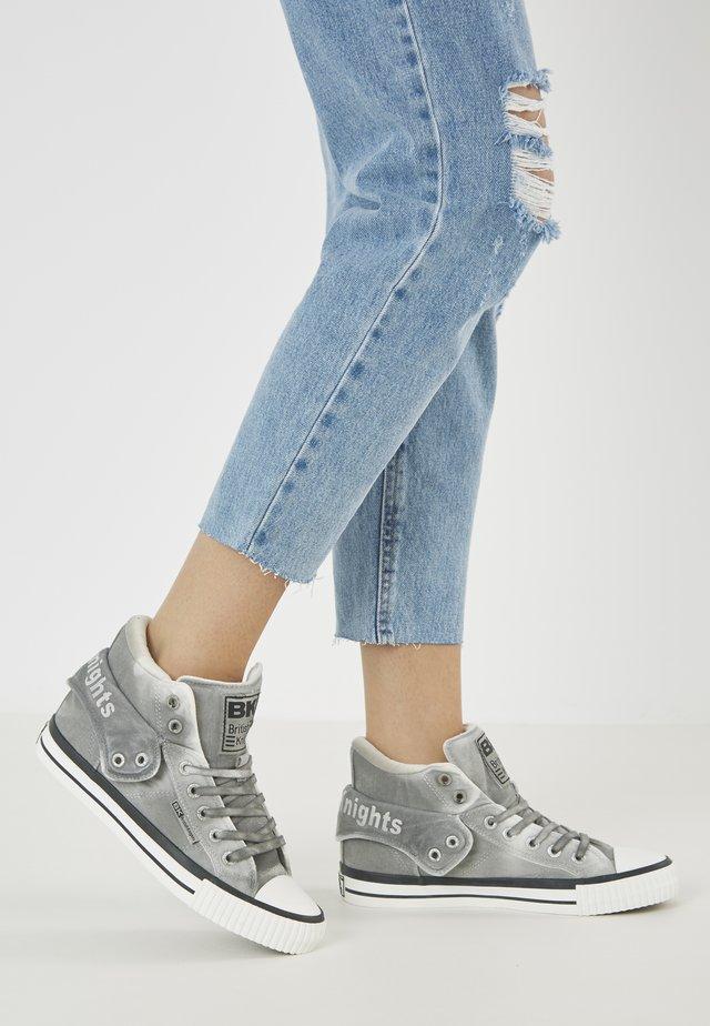 ROCO - Baskets montantes - lt grey