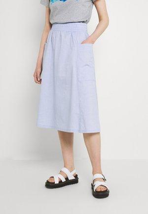 QIA SKIRT - A-line skirt - blue light