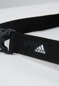 adidas Performance - PARKHOOD  - Saszetka nerka - black/white - 7