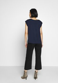 Freequent - Blouse - navy mix - 2