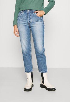 CHEEKY STRAIGHT MED EAMON - Jeans straight leg - medium indigo