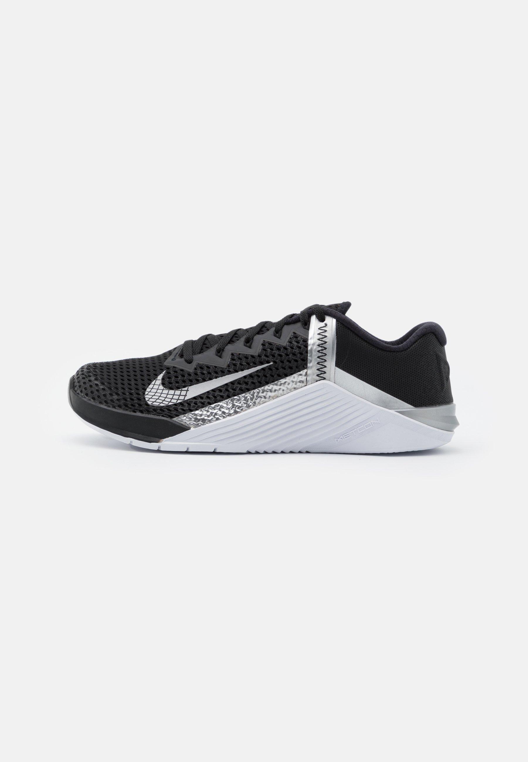 Adentro pronunciación bestia  Nike Performance METCON 6 - Sports shoes - black/metallic silver - Zalando .ie