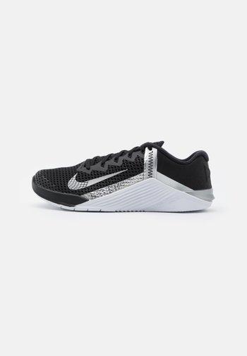 METCON 6 - Scarpe da fitness - black/metallic silver