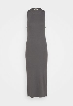 THE ESSENTIAL MUSCLE DRESS WHITE LABEL - Maxi šaty - grey paver