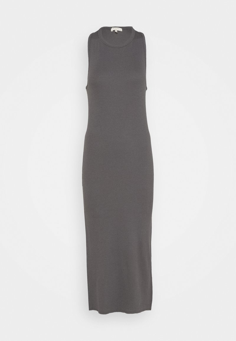rag & bone - THE ESSENTIAL MUSCLE DRESS WHITE LABEL - Maxi dress - grey paver