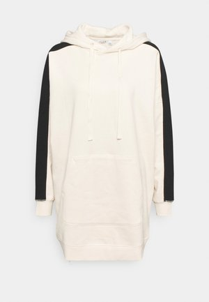 OVERSIZED STRIPE HOOD - Športni pulover - whitecap gray