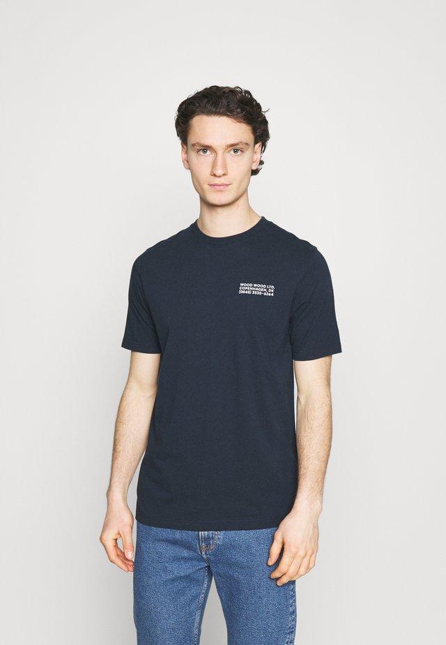 SAMI INFO - T-shirts print - navy