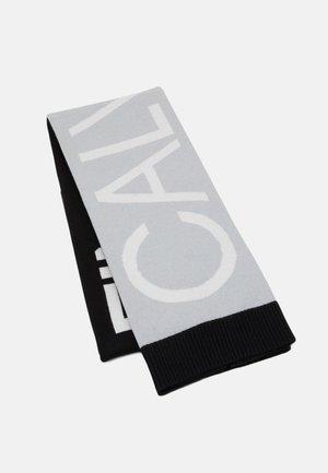 SCARF HALFCUT UNISEX - Scarf - black