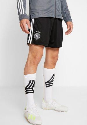 DEUTSCHLAND DFB HEIMSHORTS - Pantalón corto de deporte - black/white