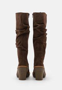 El Naturalista - HAYA - High heeled boots - brown - 3
