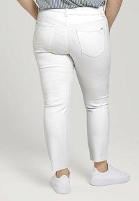 MY TRUE ME TOM TAILOR - Slim fit jeans - whisper white - 2