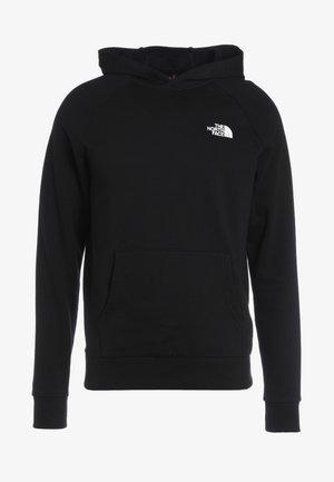 REDBOX HOODIE - Bluza z kapturem - black