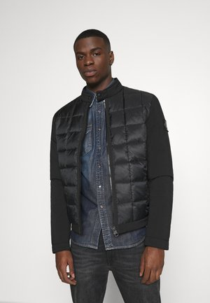 MOTO JACKET - Lehká bunda - black
