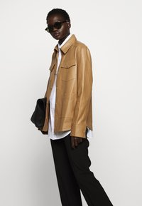 Rika - PARIS JACKET - Leather jacket - light brown - 4