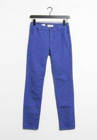 Oui - Trousers - blue - 0