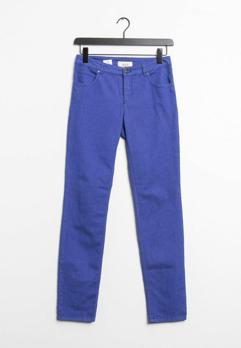Oui - Trousers - blue