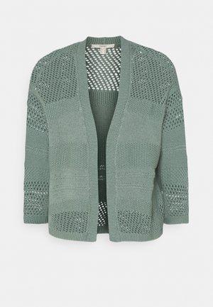 POINTELLE - Cardigan - turquoise