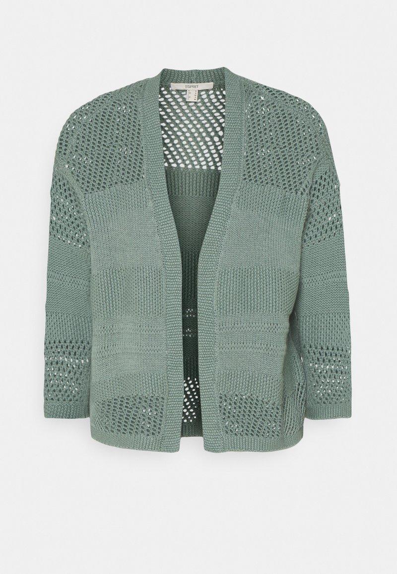 Esprit - POINTELLE - Cardigan - turquoise