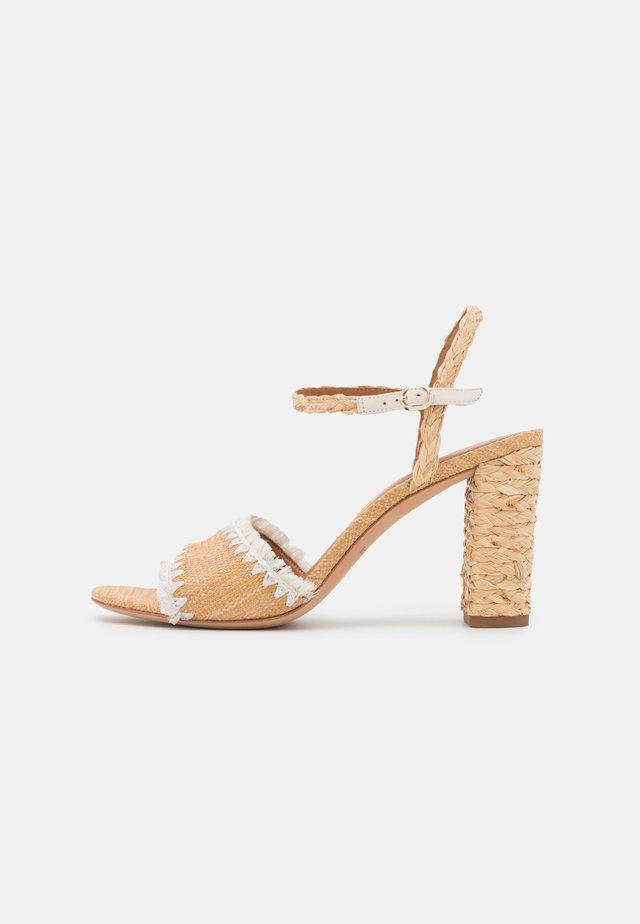 OLIVIA - Sandals - natural/parch