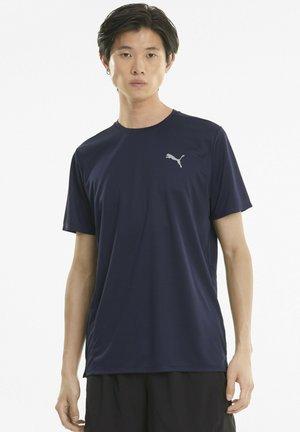 FAVOURITE - Basic T-shirt - peacoat