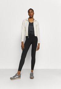 The North Face - FULL ZIP JACKET - Fleece jacket - vintage white heather - 1