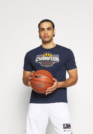 CREWNECK - T-shirt med print - dark blue