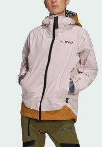 adidas Performance - TERREX MYSHELTER GORE TEX - Training jacket - pink - 5