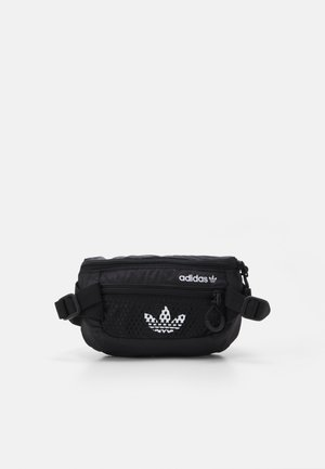 WAISTBAG UNISEX - Rumpetaske - black/white