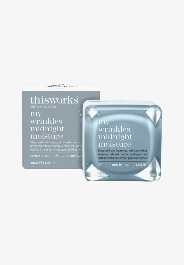 THIS WORKS MY WRINKLES MIDNIGHT MOISTURE - Night care - -