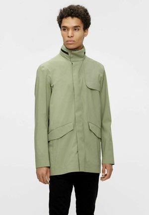 Short coat - lake green