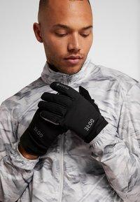 Gore Wear - GORE TEX THERMO  - Gants - black - 0
