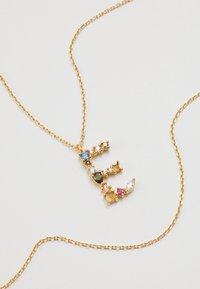 PDPAOLA - LETTER NECKLACE - Kaulakoru - gold-coloured - 4