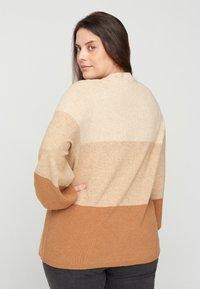 Zizzi - Sweatshirt - beige - 2