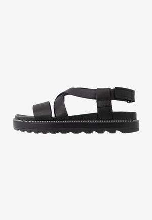 ROAMING CRISS CROSS - Sandals - black