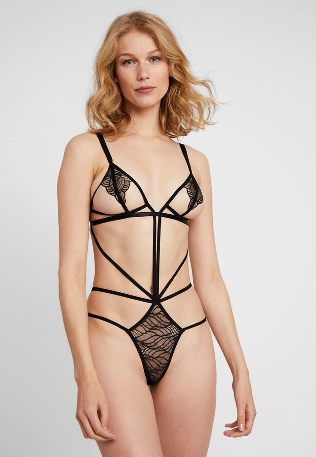 EMERSON STRAPPY BODY - Body / Bodystockings - black