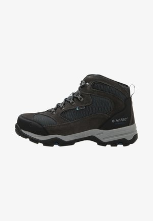 STORM WP - Hiking shoes - charcoal/grey/majolica blue