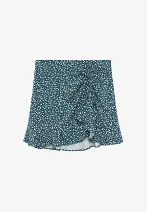 NANTES - A-line skirt - donkergroen