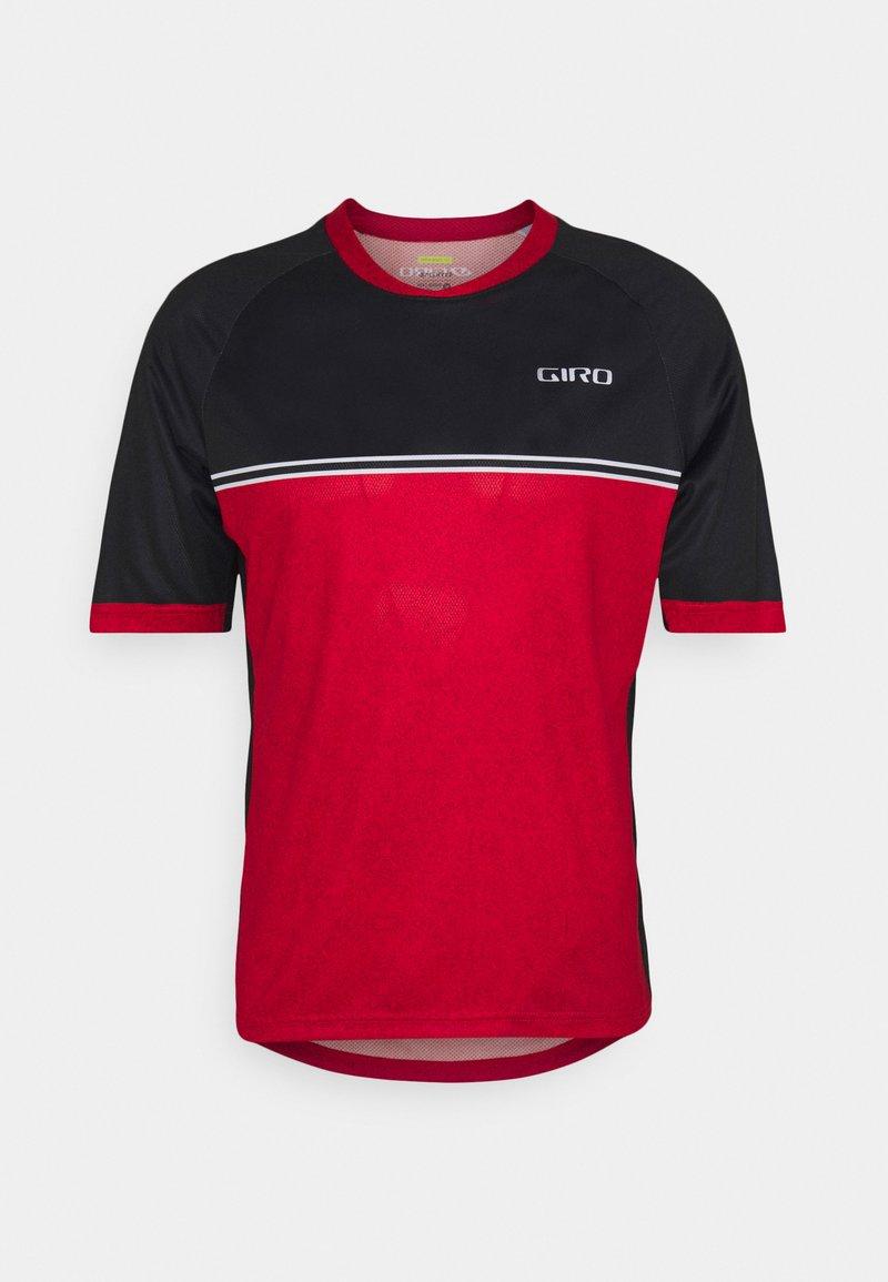 Giro - ROUST - T-shirt z nadrukiem - bright red