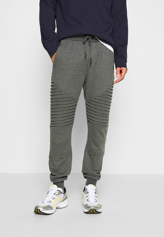 CRISTOBAL - Tracksuit bottoms - charcoal mix