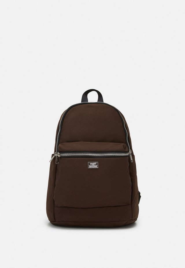ROUNDED BACKPACK UNISEX - Rugzak - brown