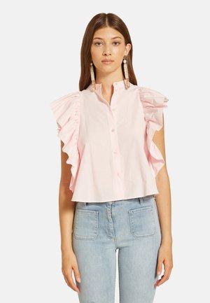 MIT MAXI-RÜSCHEN - Camisa - rosa