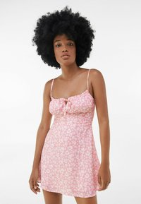 Bershka - Sukienka letnia - pink - 0