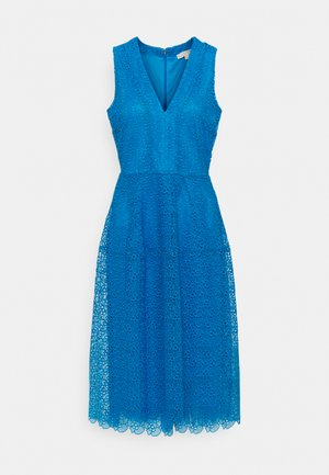 MIDI DRESS - Vestito estivo - bright cyan blue