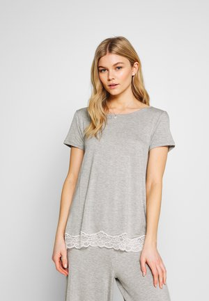 SHORT SLEEVED  - Pyjama top - grey