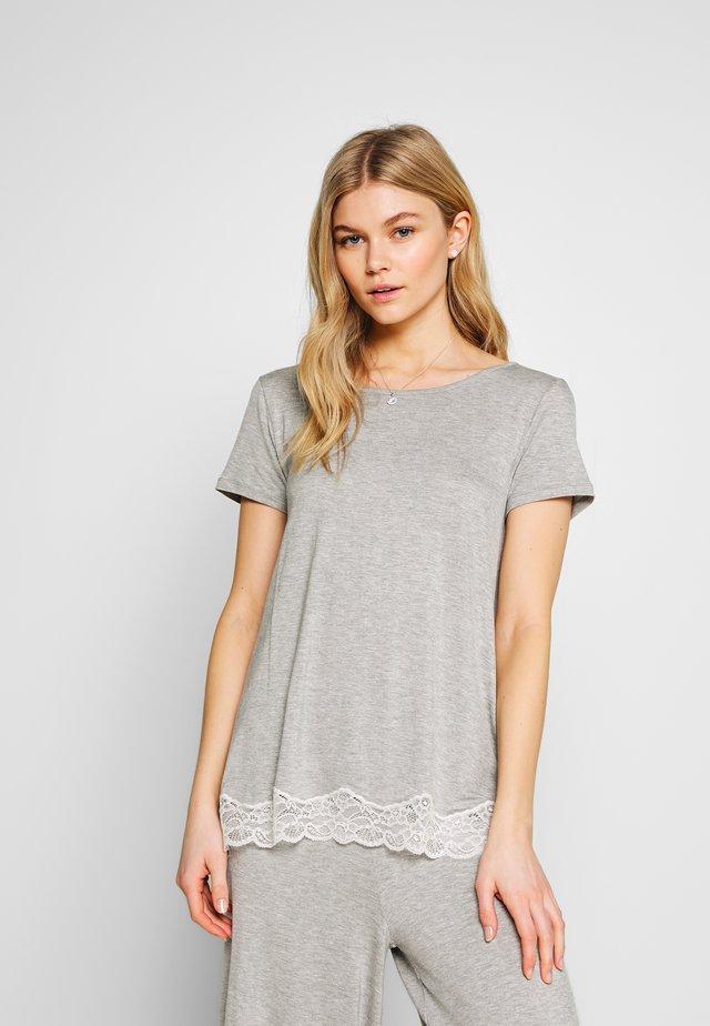 SHORT SLEEVED  - Pyjamashirt - grey