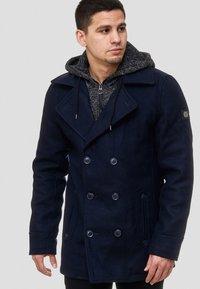 INDICODE JEANS - Krótki płaszcz - dark blue - 3
