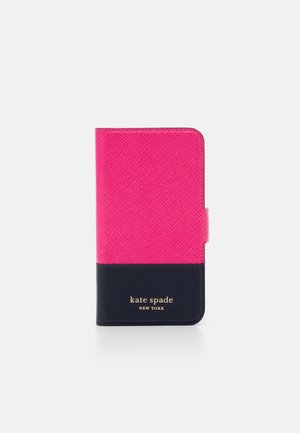 SPENCER FOLIO - Etui na telefon - shocking magenta