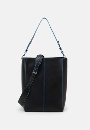 CASSET TONAL - Shopping bag - black