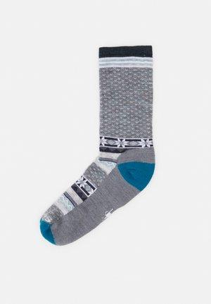 COZY CABIN LIGHT  - Sports socks - lunagrey
